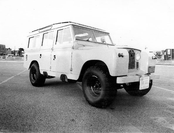 1963 LandRover Type 109
