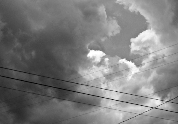 Sky with Wires